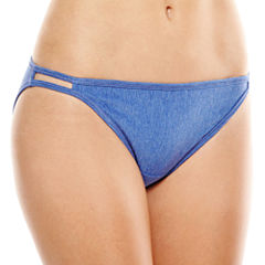 Vanity Fair® Illumination® Cotton-Blend Bikini Panties -18315