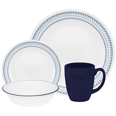Corelle® Livingware™ Folk-Stitch 16-pc. Dinnerware Set