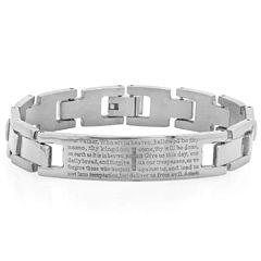 Mens 8 Inch Link Bracelet