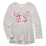 Arizona Long Sleeve Sweatshirt - Toddler Girls