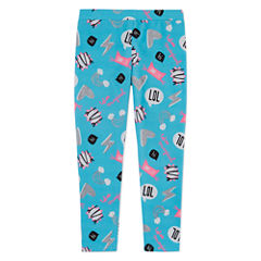 Total Girl Dots Knit Leggings - Preschool Girls