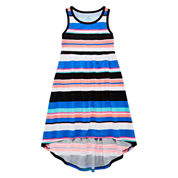 Okie Dokie Sleeveless Maxi Dress - Preschool Girls