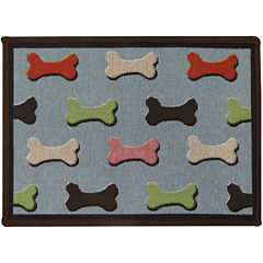 PB Paws by Park B. Smith® Bone Collection Tapestry Pet Mat
