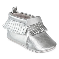 Carter's® Silver Fringe Boots - Baby Girls 3m-12m