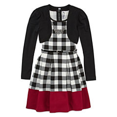 Knit Works Skater Dress - Big Kid Girls