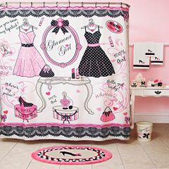 Glamour Girl Shower Curtain
