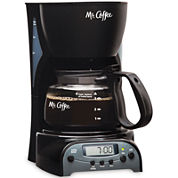 Mr. Coffee® Simple Brew 4-Cup Programmable Coffee Maker