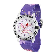 Red Balloon™ Girls Purple Butterfly Strap Watch