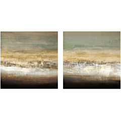 PTM Images™ Set of 2 Earthy Horizon Canvas Wall Art