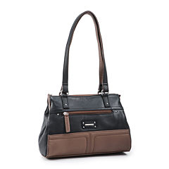 Stone & Co. Donna Leather Satchel