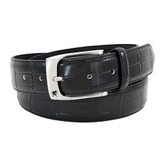 Stacy Adams® Croc-Embossed Leather Belt