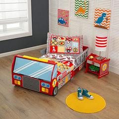 KidKraft® Fire Truck Toddler Bed