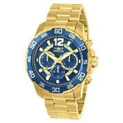 Men's Invicta GoldBlue DVR