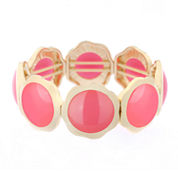 Liz Claiborne Womens Pink Stretch Bracelet