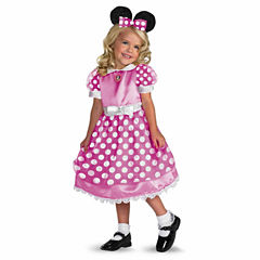 Disney Clubhouse Minnie Mouse Toddler 2-pc. Dress Up Costume