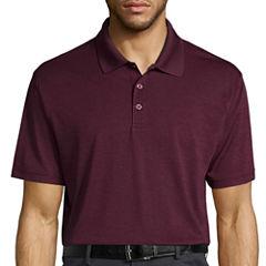 Haggar® Short Sleeve Poly Polo T-Shirt