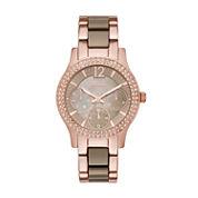 Relic Womens Rose Goldtone Bracelet Watch-Zr15878