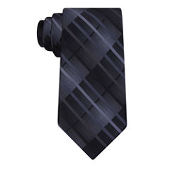 VAN HEUSEN CHROME AARUSH PLAID SLIM TIE