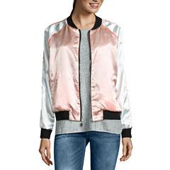 i jeans by Buffalo Reversible Satin Bomber Jacket