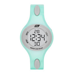 Skechers® Ladies Mint Digital Strap Watch