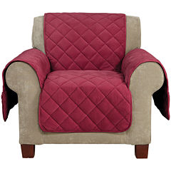 SURE FIT® Memory Foam Cover Pet-Friendly Chair Slipcover