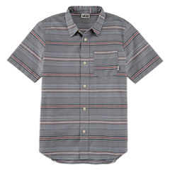 Vans Short Sleeve Button-Front Shirt Boys