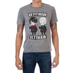 Harry Potter Cartoon Character Short Sleeve Graphic T-Shirt
