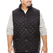 The Foundry Supply Co. Quilted Vest Big and Tall