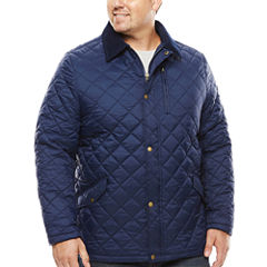 The Foundry Big & Tall Supply Co. Quilted Jacket-Tall