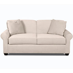 Sleeper Possibilities Roll-Arm Full Loveseat