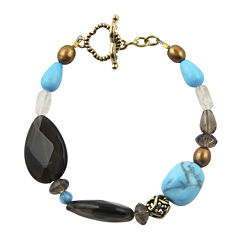 Art Smith by BARSE Multicolored Crystal Beaded Bracelet