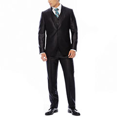 JF J. Ferrar® Black Shimmer Suit Separates - Slim Fit