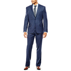 Collection by Michael Strahan Navy Birdseye Suit Separates - Classic Fit