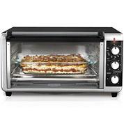 Black+Decker Wide Toaster Oven