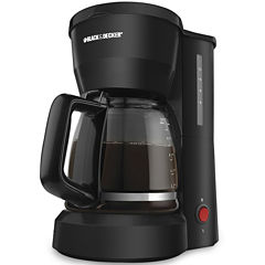 Black+Decker DCM600B 5-Cup Coffeemaker