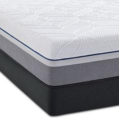 Sealy® Premier Hybrid Silver Plush - Mattress + Box Spring