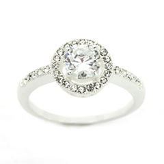 Sparkle Allure Womens White Crystal