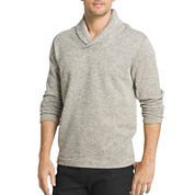 Van Heusen Long Sleeve Fleece Pullover Sweater