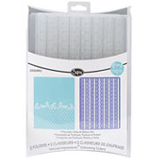 Sizzix® Textured Impressions™ 2-pk. Embossing Folders