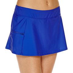 Aqua Couture Solid Swim Skirt