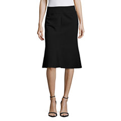 Worthington Suiting Flared Pencil Skirt