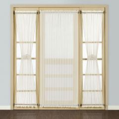 United Curtain Co. Batiste Rod-Pocket Door Panel