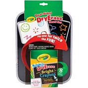 Crayola® Dual-Sided Dry-Erase Board Set