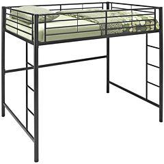 Pearson Full Bunk Bed Over Loft