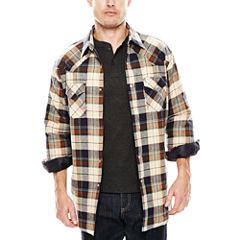 Ely Cattleman® Flannel Shirt Jacket - Tall