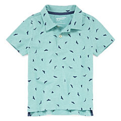 Arizona Short Sleeve Animal Jersey Polo Shirt Boys
