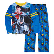 Boys 2-pc. Long Sleeve Batman Kids Pajama Set-Big Kid