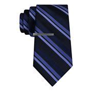 J.Ferrar Formal Multi Stripe XL Tie