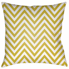 Decor 140 Harvest Zigzags Square Throw Pillow