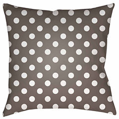 Decor 140 Harvest Dots Square Throw Pillow